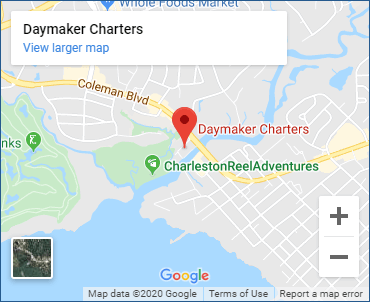 Daymaker Charters Google Map